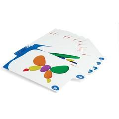 Карточки задания Радужные камешки