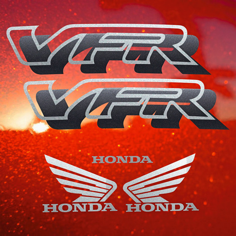 Набор виниловых наклеек на мотоцикл HONDA VFR 750,1994