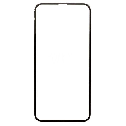 Защитное стекло для iPhone Xr и 11 с черной рамкой 2,5D Full Glue