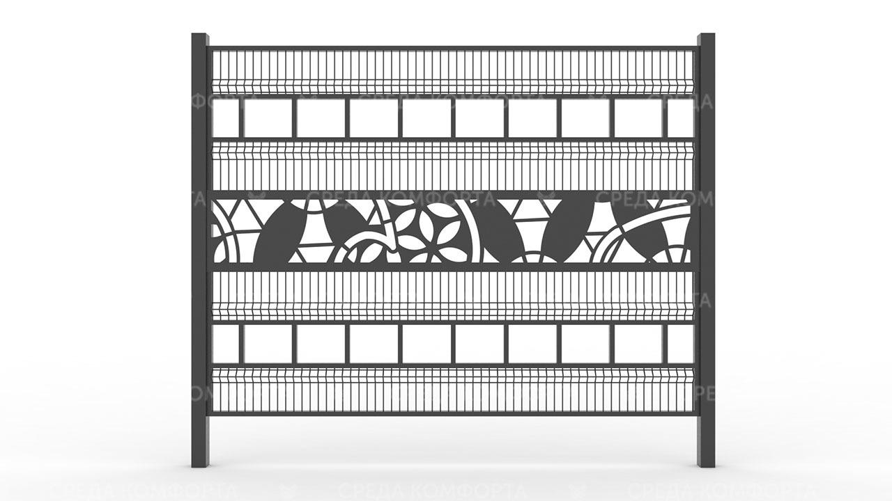 Забор 3Д ZBR0090
