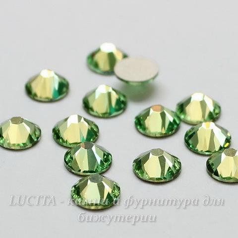 2028/2058 Стразы Сваровски холодной фиксации Peridot ss12 (3,0-3,2 мм), 12 штук