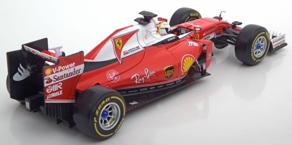 Коллекционная модель Ferrari F1 SF16-H 2016 Vettel Special Ray-Ban