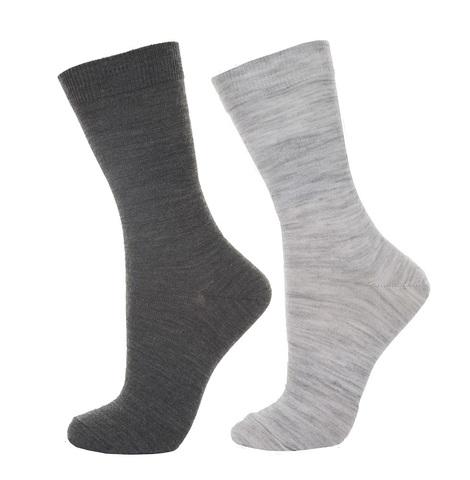 Janus, Носки женские, 2 пары, серый