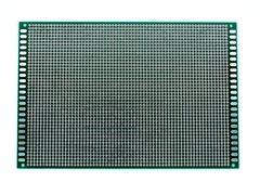 Макетная плата под пайку двухсторонняя 12х18 см