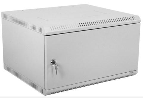 Шкаф ЦМО ШРН-Э-9.350.1 телекоммуникационный настенный разборный 9U (600 × 350) дверь металл