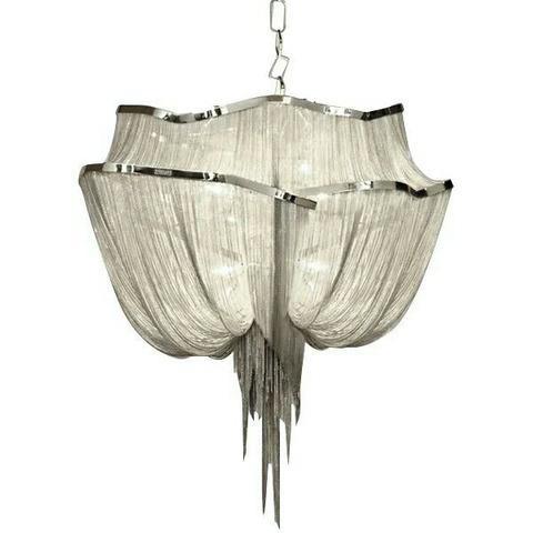 Подвесной светильник копия Atlantis by Terzani 2 (серебряный)