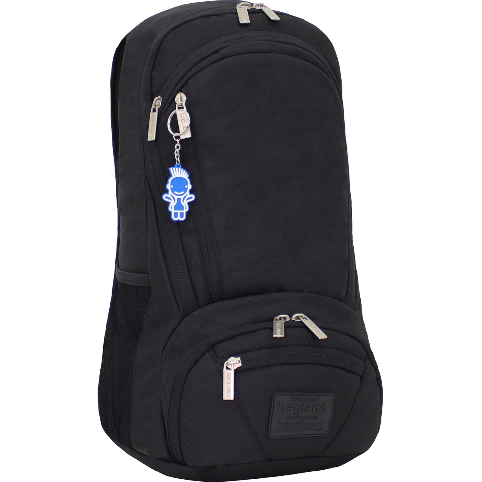 Рюкзак для ноутбука Bagland Granite 23 л. Чёрный (0012066) фото 1
