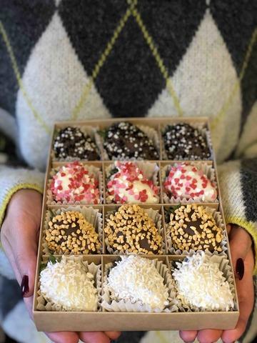 Клубника в шоколаде #23454