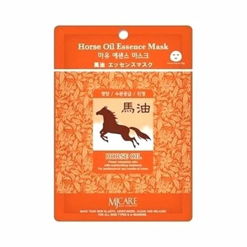 Маска тканевая лошадиный жир Mijin Horse Oil Essence Mask