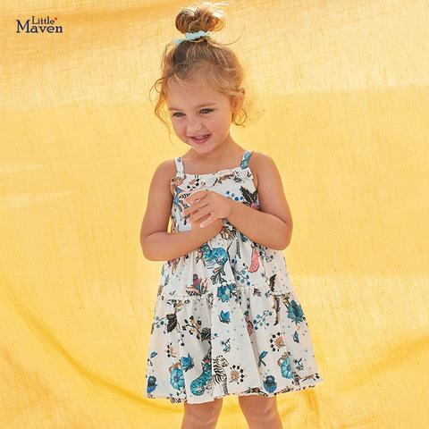 Платье для девочки Little Maven Природа