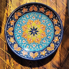Ляган узбекский Каракалам, 42см