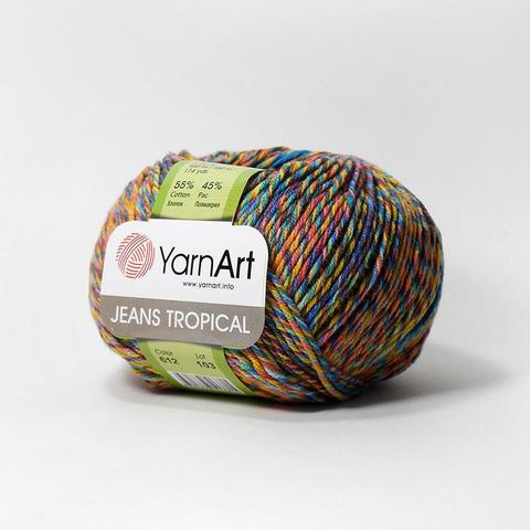 Пряжа YarnArt Jeans Tropical цвет 612