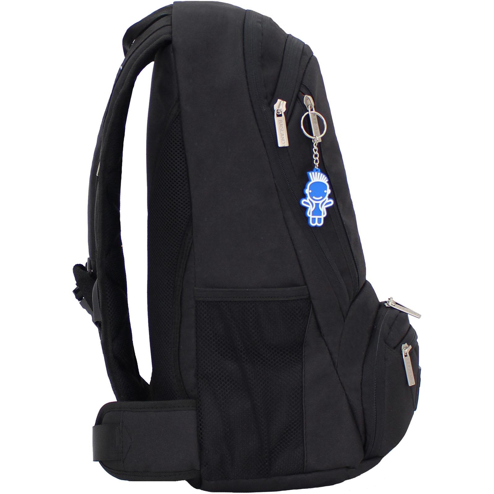 Рюкзак для ноутбука Bagland Granite 23 л. Чёрный (0012066) фото 2