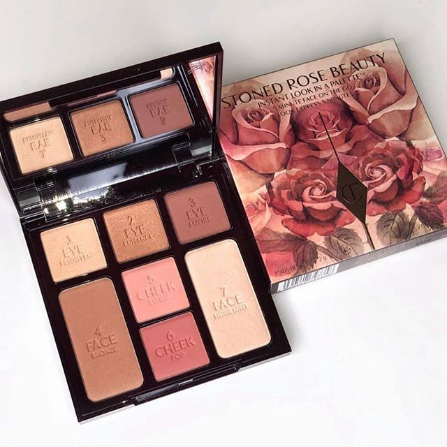 Палетка для лица Charlotte Tilbury Instant Look In a Palette Stoned Rose Beauty