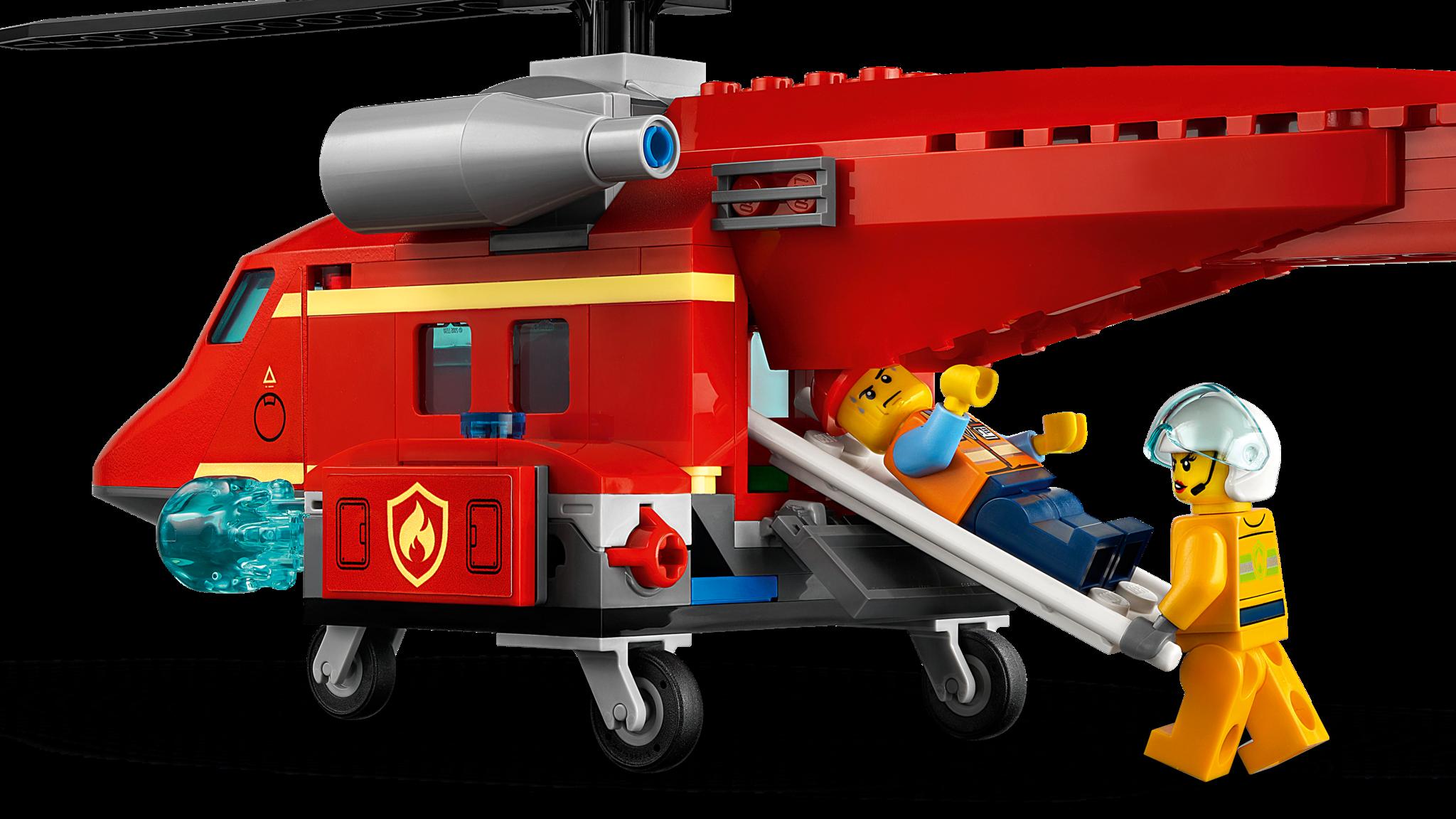 Конструктор LEGO City 60281 Спасательный пожарный вертолёт