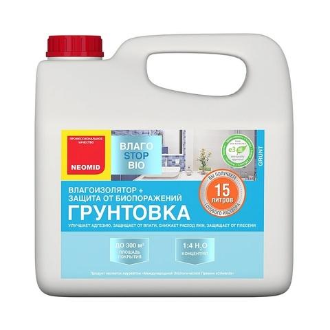 Neomid ВлагоStop Bio грунт влагоизолятор
