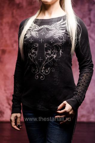 Пуловер AFFLICTION RENEGADE CROSS