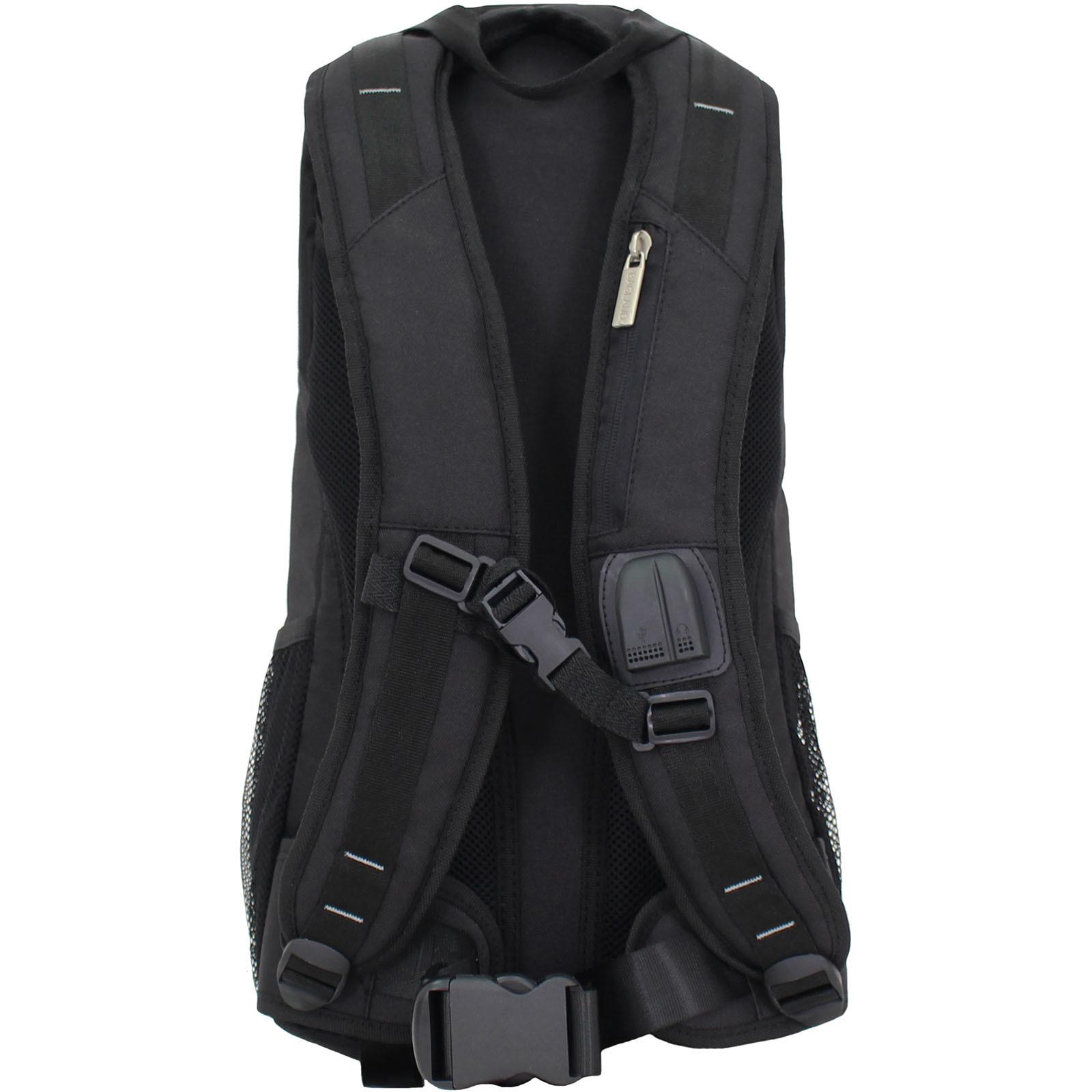 Рюкзак для ноутбука Bagland Granite 23 л. Чёрный (0012066) фото 3