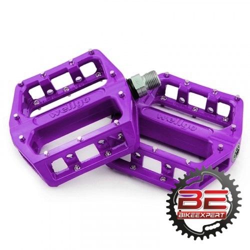 Педали Wellgo В087-B фиолетовые