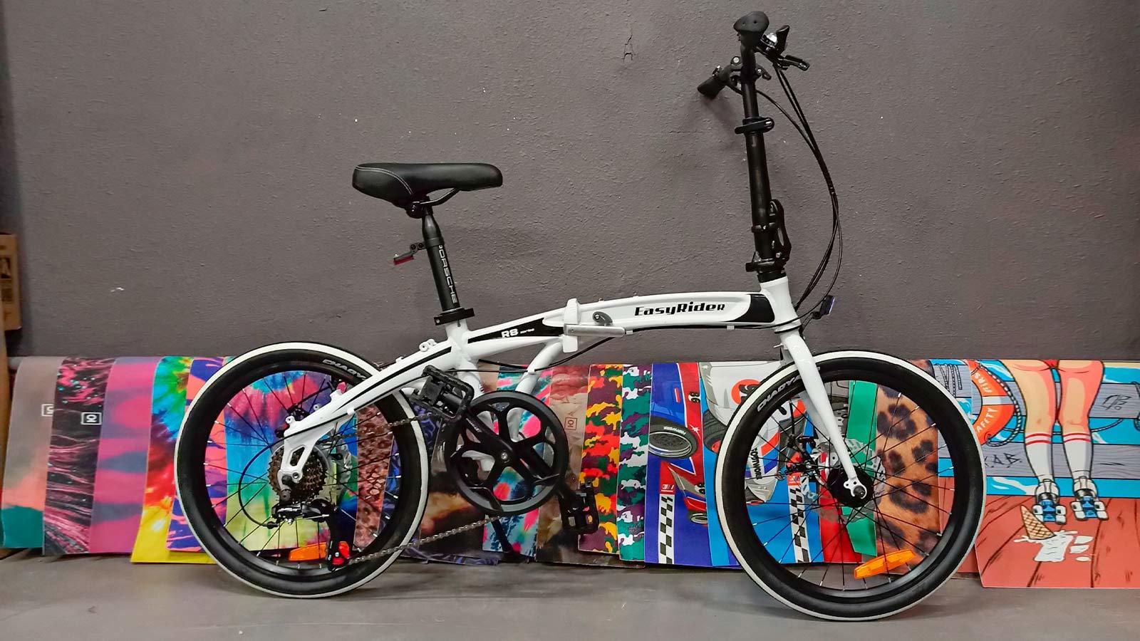 складной велосипед 20