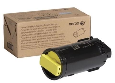 Оригинальный картридж Xerox 106R03938 желтый