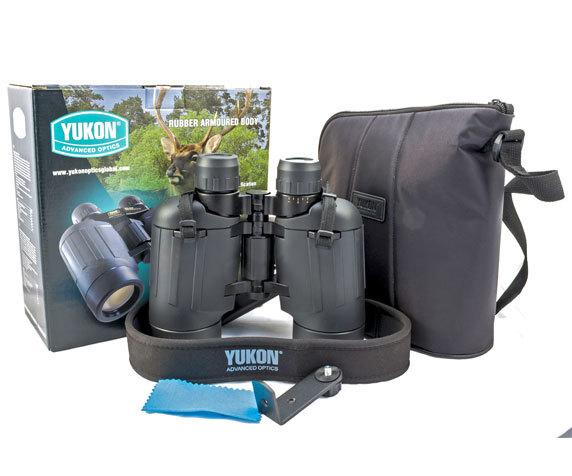 Комплект поставки Yukon 30 50, зеркально-линзовый