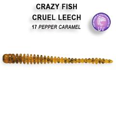 Силикон CRAZY FISH CRUEL LEECH 2,2