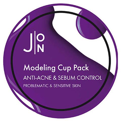 Альгинатная маска для лица АНТИ-АКНЕ/СЕБУМ КОНТРОЛЬ Anti-Acne & Sebum Control Modeling Pack, 18 гр, J:ON