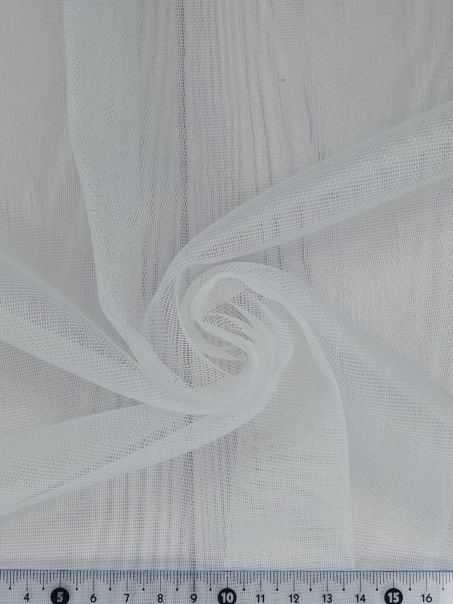 Тюль сетка мережка однотонная ADEN