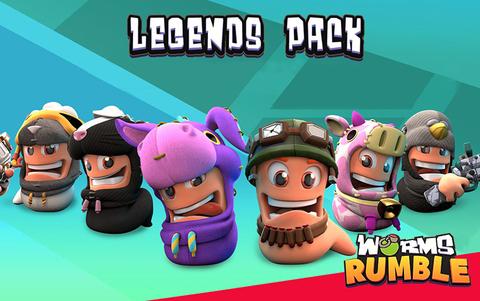 Worms Rumble - Legends Pack (для ПК, цифровой ключ)