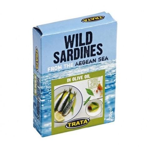 Сардины атлантические в масле, 100 гр.