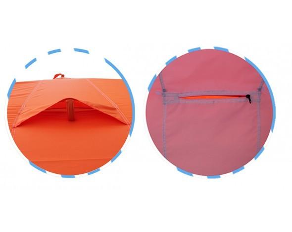 Палатка для зимней рыбалки Митек Нельма-Куб 2 Люкс