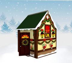 Новогодний домик Деда Мороза