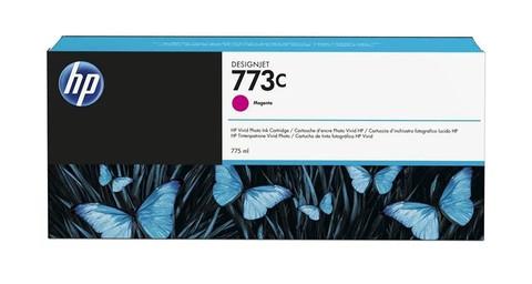 Оригинальный картридж струйный HP C1Q39A (№773C) пурпурный