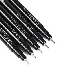 Touch Twin Brush набор маркеров для скетчинга 36 шт в кейсе - двусторонние спиртовые  кисть/долото