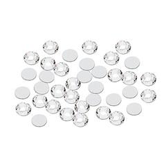 Стразы стекло, серебро 20 шт ss8 (3,5 мм) 3 гр.