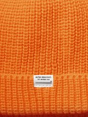Шапка Alpha Industries Essential Watch Cap Emergency Orange (Орнажевая)