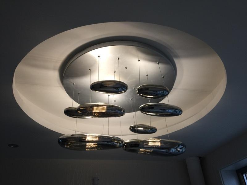 Потолочный светильник копия Mercury by Artemide (6 плафонов)