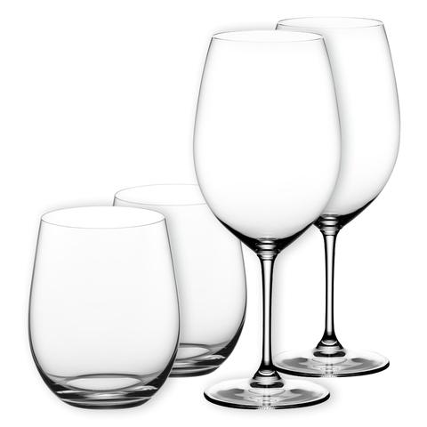 Набор из 4-х бокалов для вина Cabernet  Sauvignon 960 мл + Viognier/Chardonnay 320 мл артикул 5416/52. Серия Vinum  XL