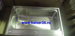 Кухонная мойка врезная из нержавеющей стали Kaiser KSM-7848 780x480x220 2