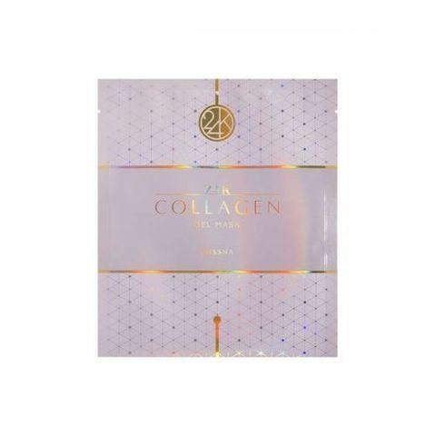 Missha Маска для лица гидрогелевая с коллагеном и золотом 24К Collagen Gel Mask, 1 шт