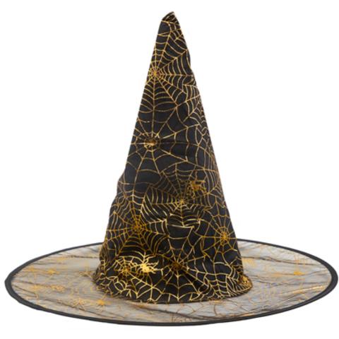 Шляпа ведьмы Паутина золотая