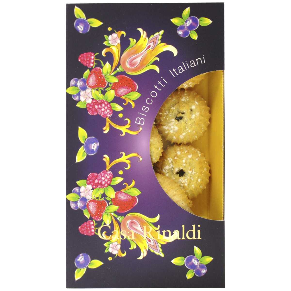 Печенье Casa Rinaldi Гочче с джемом из лесных ягод 200 г