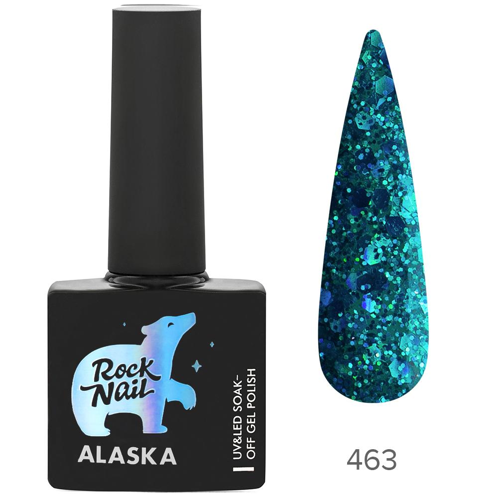 Гель-лак RockNail 463 Aurora Borealis 10мл