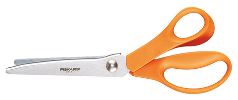 Ножницы Fiskars Classic для шитья зиг-заг, 23 см