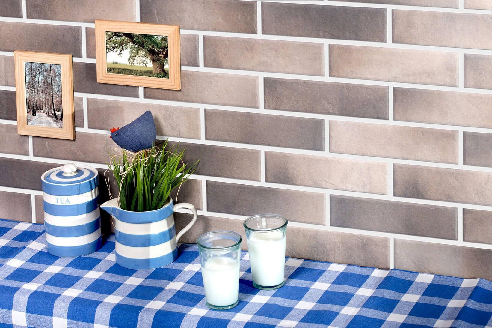 Cerrad Retro brick, Pepper, 245x65x8 - Клинкерная плитка для фасада и внутренней отделки