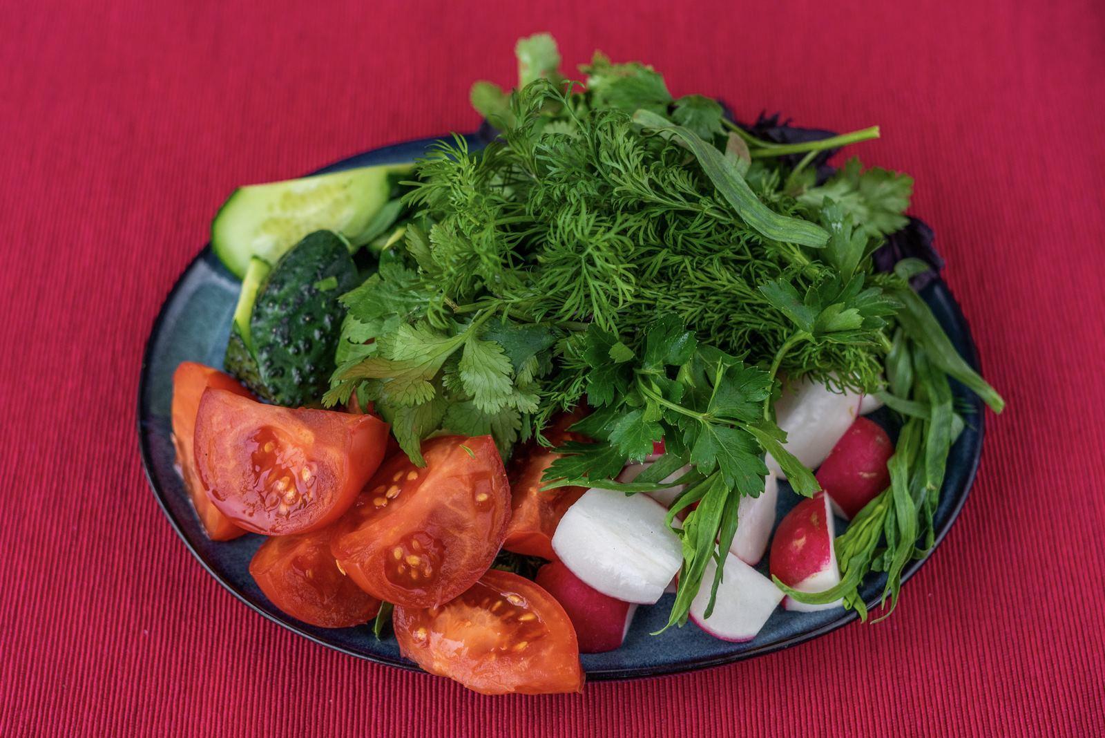 Ассорти овощей и зелени