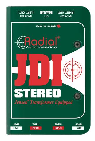 Radial JDI Stereo пассивный двухканальный директ-бокс