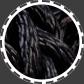 Mooring line Black pearl polyester