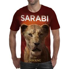 Футболка 3D принт, Король Лев (3Д The Lion King) Сараби/ Sarabi